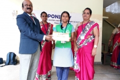 A. ANSLIN MALAR - STD- VIII got 2nd Prize in Tamil Essay writing Competition Conducted by KUMARI KALAIKALAKAM on 19-07-2018