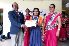 A. KAVYA - STD-IV got 2nd Prize in Quiz Competition Conducted by KUMARI KALAIKALAKAM on 23-07-2018