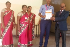 Rotary Utsav Competition-2018 conducted by Rotary Club, Nagercoil -ATHITH ROY - XII Std - III Prize. (Sudoku)