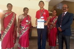 Rotary Utsav Competition-2018 conducted by Rotary Club, Nagercoil -S. RISHI - X Std - I Prize. (ESSAY WRITING -TAMIL)